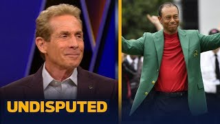 Tiger has risen back to the very top of sports after Masters win — Skip Bayless | GOLF | UNDISPUTED