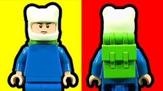 LEGO Finn Adventure Time Custom Minifigure Tutorial