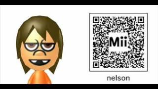Simpson Mii QR Code