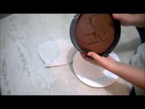 Receita de bolo amanteigado/ bolo para cobrir com pasta americana/ bolo de chocolate