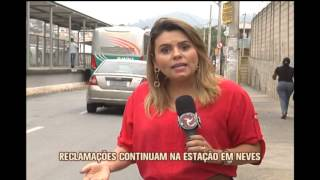 Passageiros reclamam da falta de �nibus na Esta��o do Move de Justin�polis