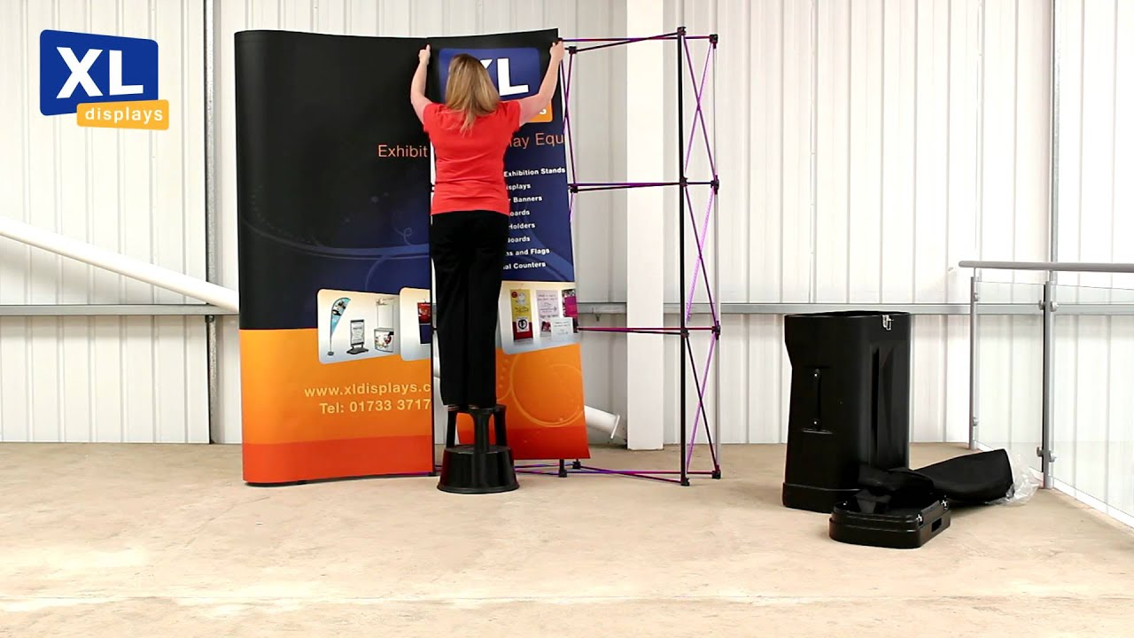 Corner Exhibition Stands Xl : Pop up display stands how to set your