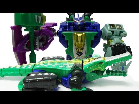 Robot biến hình siêu nhân cá sấu đồ chơi lắp ráp - Crocodile Robot Transfomer