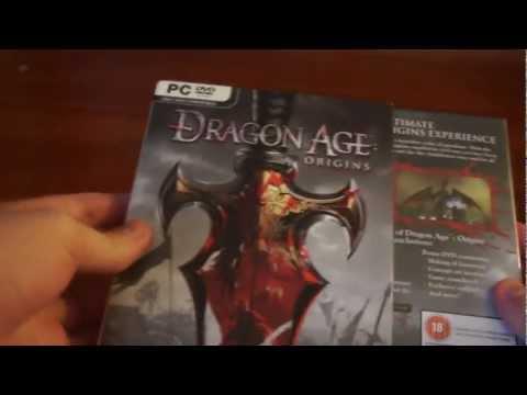 Распаковка Dragon Age: Origins Collector's Edition (Английское издание) + Dragon Age II Bioware Signature Edition (EA Russia)