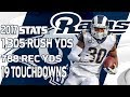 Todd Gurley s Top Plays from the 2017 Season NFL Highlights