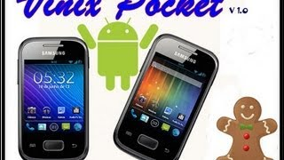 Rom Vinix Pocket Para Galaxy Pocket