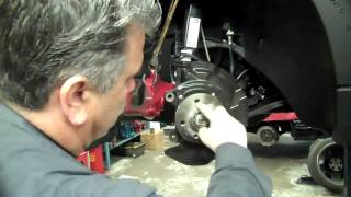 How To Replace Brake Rotors On A MINI Cooper S (Brake