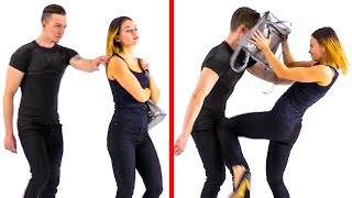 30 SELF-DEFENSE TECHNIQUES YOU MUST KNOW