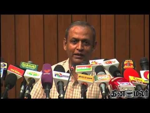 CEO Praveenkumar warns Political Parties threw Press Meet  - Dinamalar April 19th 2014 News