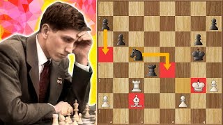 Mikhail Botvinnik vs Bobby Fischer | The Only Game They EVER Played