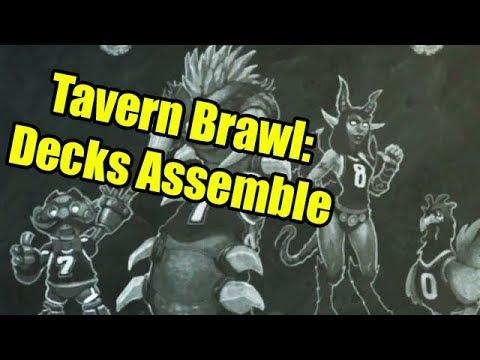 Hearthstone Tavern Brawl: Decks Assemble!