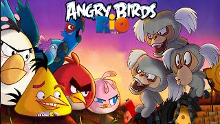 Angry Birds Rio: Timber Tumble Level 4-6 3-Stars