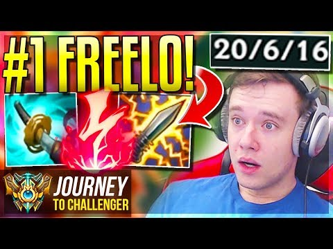 #1 MOST OP CHAMPION IN LEAGUE!!!!!! FREELO?? - Journey To Challenger | League of Legends