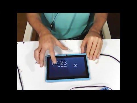 tablet china no pasa del logo