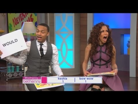 Play 'The Neverwed Game' with Bow Wow and Keisha!