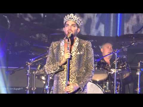Queen + Adam Lambert - We Will Rock You & We Are The Champions - Los Angeles, CA - Forum