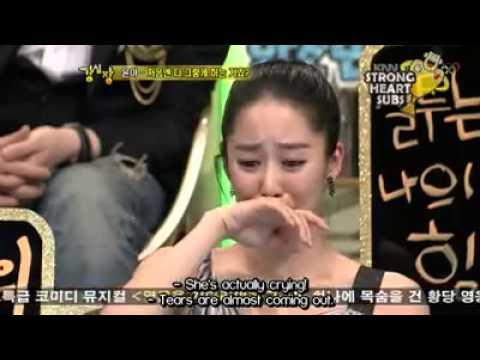 Yoona and Lee Seung Gi on Strong Heart ep 19(3)