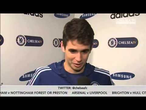 Oscar's Reaction On Chelsea vs Stoke