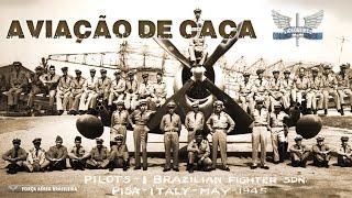 Uma homenagem da Força Aérea Brasileira ao Dia da Aviação de Caça. A comemoração relembra o 22 de abril de 1945, quando uma grande ofensiva do 1° Grupo de Aviação de Caça contra as forças alemãs contabilizou 44 missões de guerra em um único dia durante a Segunda Guerra Mundial.