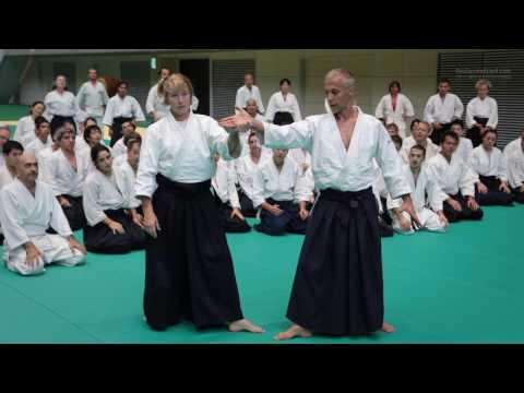 Aikido Class: Janet Clift 6th Dan - 12th IAF Congress in Takasaki