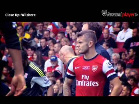 Close up : Jack Wilshere