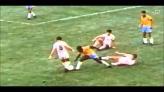 Pelé rare amazing Dribbling Skills
