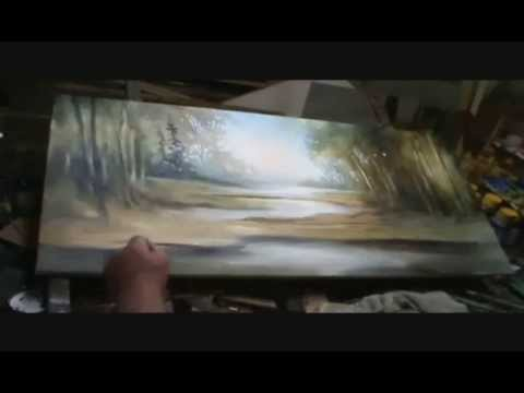 Painting landscape - part 2 - M.Lang