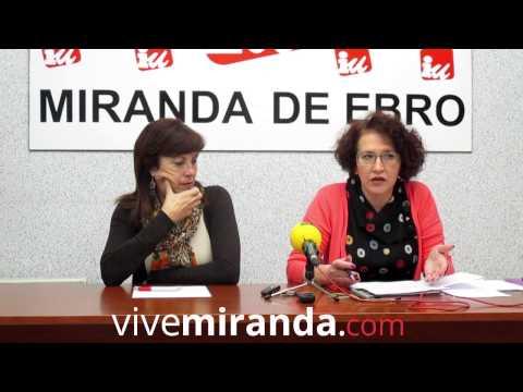 Rueda de prensa IU - 18/11/14