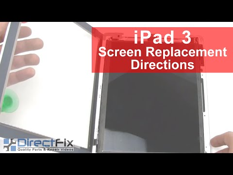 iPad 3 Screen Repair & Glass Repair Directions | DirectFix