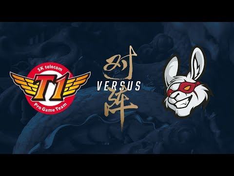 SKT vs. MSF | Quarterfinals Game 1 | 2017 World Championship | SK telecom T1 vs Misfits Gaming