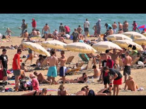 Beach People in Barcelona - Barcelona Beach Tour - la vita sulla spiaggia di Barcellona