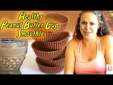Healthy Breakfast Smoothie: Chocolate Peanut Butter Cup! Smoothies, Weight Loss Drinks & Health!
