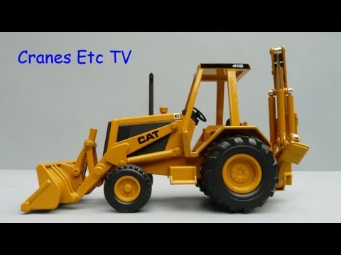 Cranes Etc TV Review of Norscot Caterpillar 416