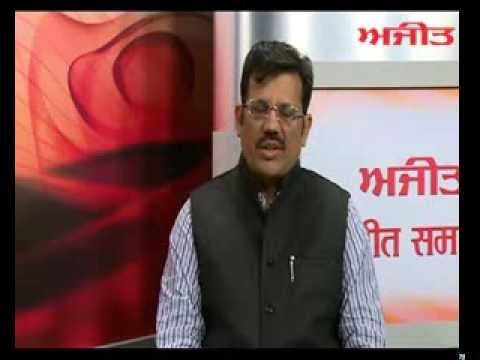Interview of Sh. Kamal Sharma (President BJP, Punjab) with Daily Ajit - Part 1