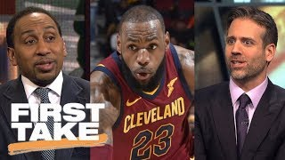 First Take debates if this is LeBron James' best NBA season of his career | First Take | ESPN