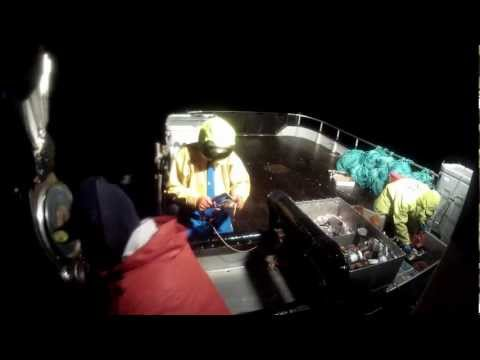 Dungeness crab fishing off Oregon coast