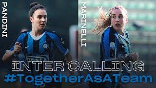INTER CALLING with MARTA PANDINI and GLORIA MARINELLI | INTER WOMEN 2019/20 | #TogetherAsATeam 👩🏻⚫🔵🖥????