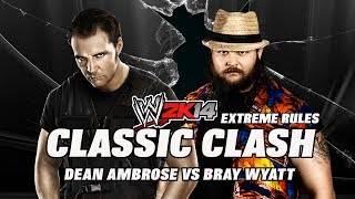 WWE2K14 Classic Clash Dean Ambrose (The Shield) Vs Bray