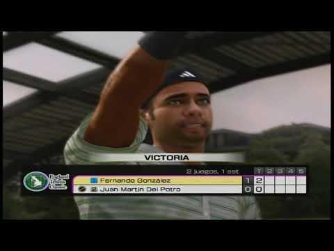 Virtua Tennis 4 - Fernando Gonzalez vs Juan Martin Del Potro