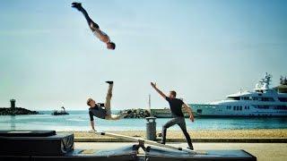 World's Craziest Teeterboard Flips - Streaks Show