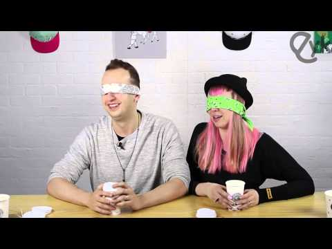 Blindfold Korean Holiday Coffee Bloopers