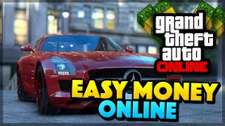 GTA 5 Online How To Make Money Fast Online Easy Money