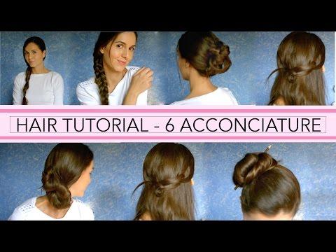 Hair tutorial - 6 acconciature per la scuola e il lavoro