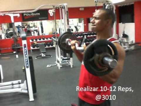 Rutina de Hipertrofia para Hombros, Biceps y Triceps By Bernabe