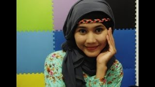 Tutorial Hijab Pashmina Youtube Part 1#