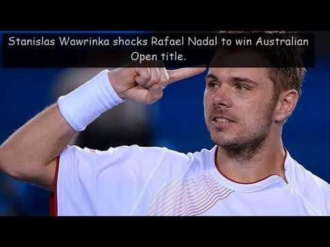 Stanislas Wawrinka wins Australian Open 2014 against Rafael Nadal