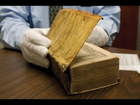 Books Bound in HUMAN SKIN Found in Harvard Library