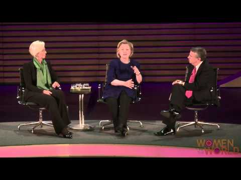 A Conversation with Hillary Rodham Clinton and Christine Lagarde