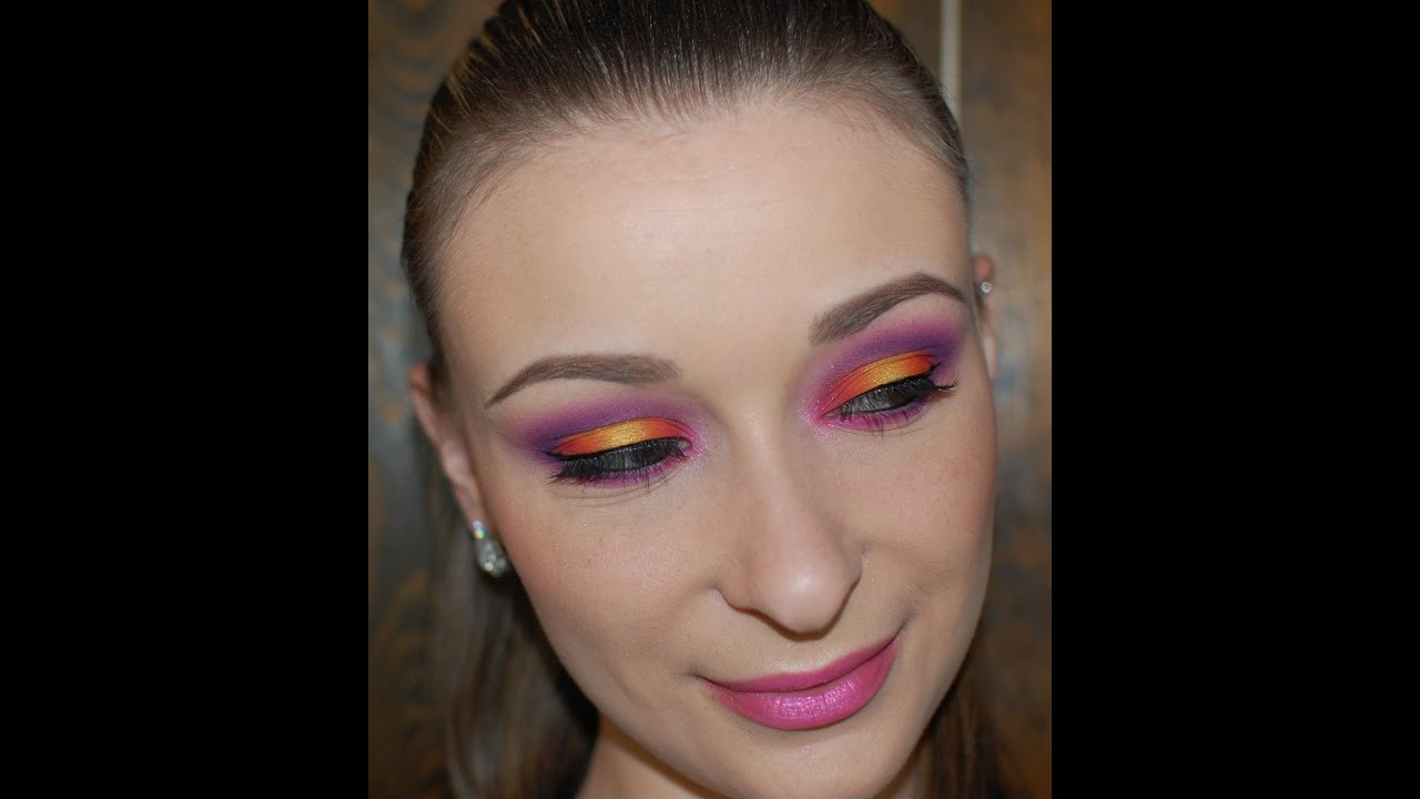 Sunset Boulevard Makeup Tutorial - YouTube