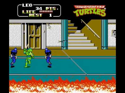 Teenage Mutant Ninja Turtles II - Vizzed.com Play - User video